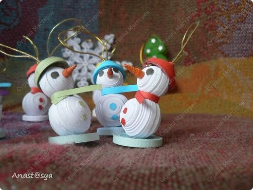 Новогоднее собрание снеговиков фото 4