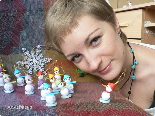 Новогоднее собрание снеговиков фото 6