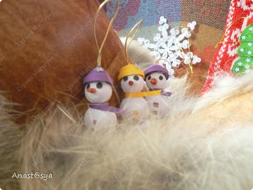 Новогоднее собрание снеговиков фото 7