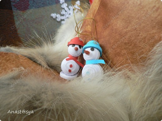 Новогоднее собрание снеговиков фото 8