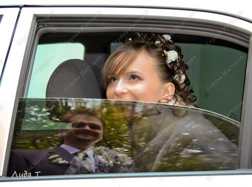 11 сентября в моей жизни произошло замечательное событие - свадьба Готовились мы к ней долго - больше года. Это утро 11 сентября - я этакий медвежонок фото 21