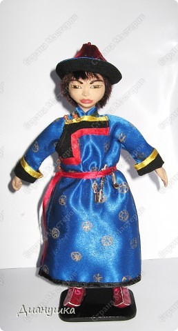 "Наконец-то у меня ""дошли"" руки до второй куклы - сшила мальчику костюм!  фото 2"