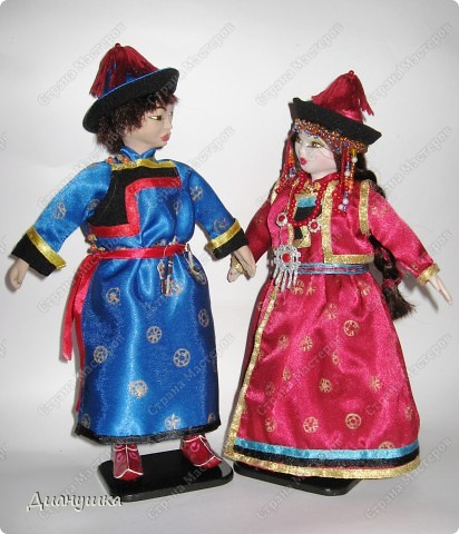 "Наконец-то у меня ""дошли"" руки до второй куклы - сшила мальчику костюм!  фото 1"