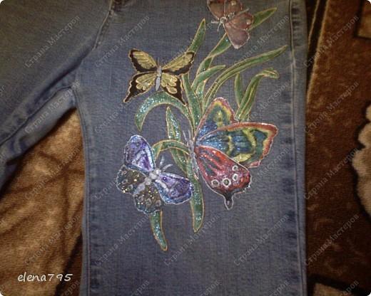 Мои первые розы на трикотаже  фото 3