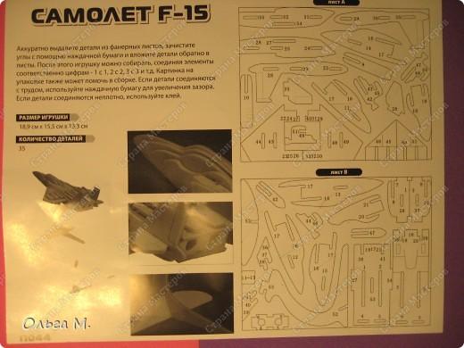 Этот самолёт так же как и павлин собран из готового набора для моделирования ... Собирала дочка со мной... фото 6