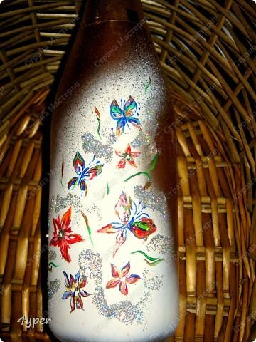 Праздничные бутылки (это на свою свадьбу я рисовала) фото 2
