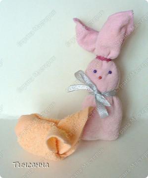 Продолжаю тему Веры А. http://stranamasterov.ru/node/118398?tid=451 Можно сделать и таких кроликов к Новому году.  фото 1