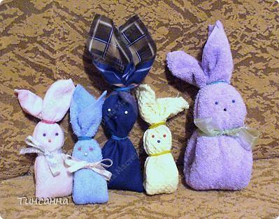Продолжаю тему Веры А. http://stranamasterov.ru/node/118398?tid=451 Можно сделать и таких кроликов к Новому году.  фото 5