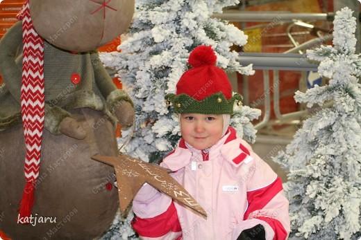 ВСЕМ приятных новогодних и рождественских хлопот! У нас сегодня было открытие сезона и решила и вам показать какие шапочки я смастерила своим малым  фото 1