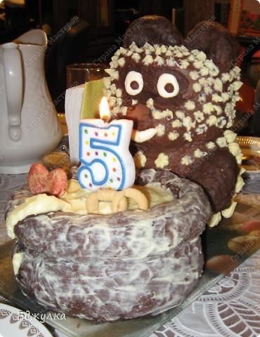 Тортик на пятилетие сыночка фото 1