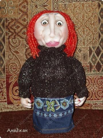 Кирочка. Эту куклу сделала другу нашей семьи, в подарок на ДР. Все кто ее знает сказали что очень похожа. Надеюсь что ей понравится наш подарок. фото 2