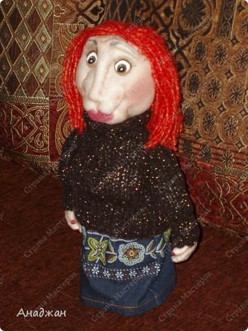 Кирочка. Эту куклу сделала другу нашей семьи, в подарок на ДР. Все кто ее знает сказали что очень похожа. Надеюсь что ей понравится наш подарок. фото 1