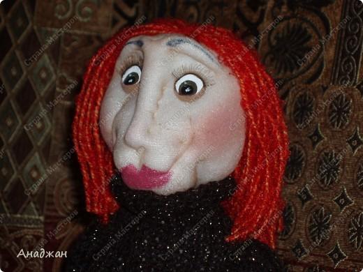 Кирочка. Эту куклу сделала другу нашей семьи, в подарок на ДР. Все кто ее знает сказали что очень похожа. Надеюсь что ей понравится наш подарок. фото 4