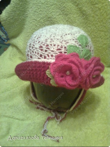 Шляпка для любимой племяшки