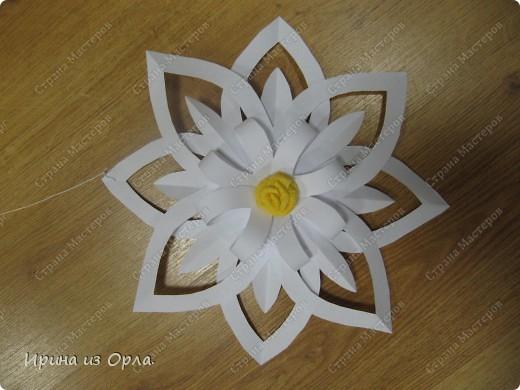 Благодарим от всей души Мастерицу Страны - Надежду Каликову (http://stranamasterov.ru/node/120608) за сногшибательную идею изготовления звездочек-снежинок на скорую руку!!!  фото 2