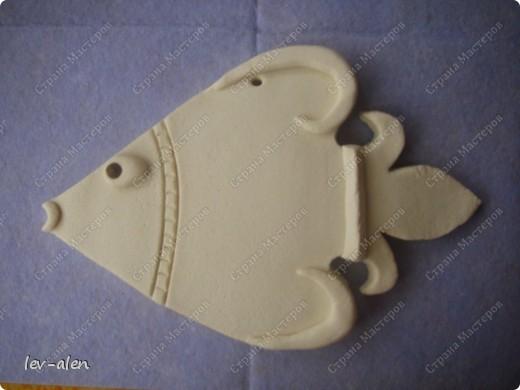 Это был один из вариантов рыбки Германия. Но потом я подумала, что это не очень точный образ, соответствующий именно этой стране. Но рыбка все равно получилась. фото 5