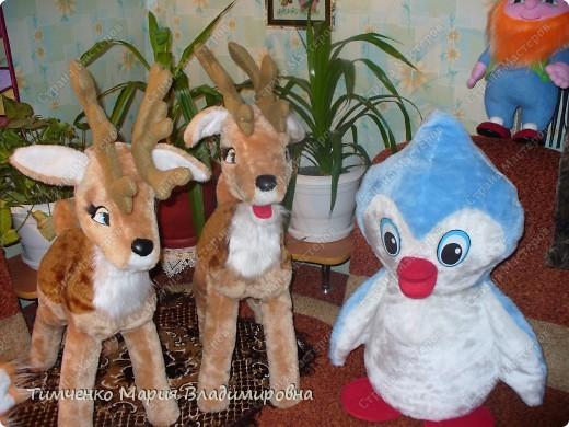 игрушки выполненые на новый год фото 1