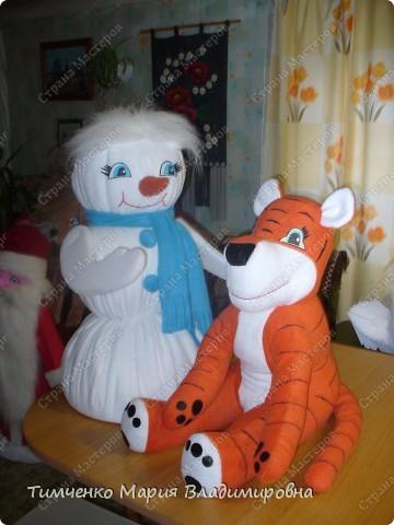 игрушки выполненые на новый год фото 7