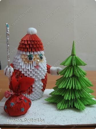 Вот такую композицию сделала на Новый год... Дед Мороз  сделан   крестнику в детский сад. фото 2