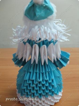 Вот такую композицию сделала на Новый год... Дед Мороз  сделан   крестнику в детский сад. фото 6