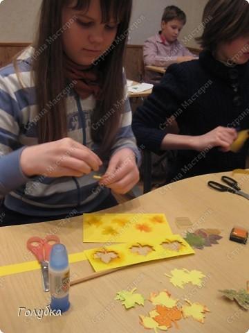 Это наш подарок школе! Календарь на 2011год. Работать мы над ним начали давно ... Обложка, моё творчество. фото 2