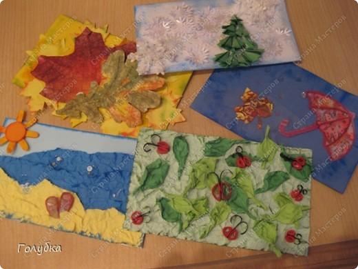 Это наш подарок школе! Календарь на 2011год. Работать мы над ним начали давно ... Обложка, моё творчество. фото 7