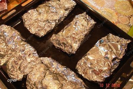 Хочу поделиться любимым рецептом. На Новый год я всегда готовлю фаршированные кальмары. фото 6