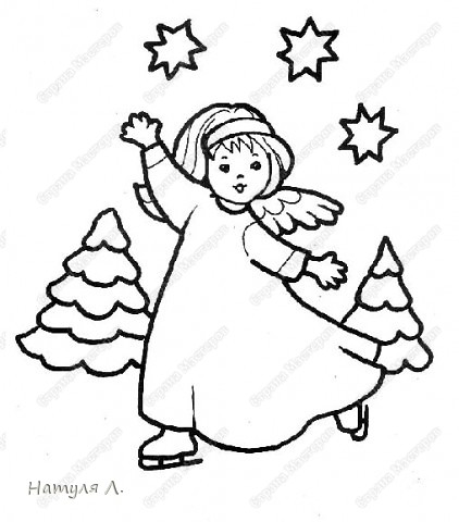 Проект ангелы (+ шаблоны с сайта http://allforchildren.ru/) фото 10