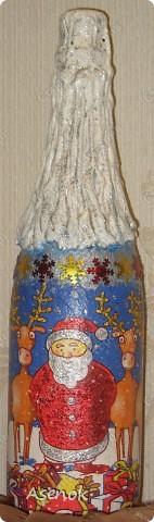 Новогодняя бутылочка :) фото 1