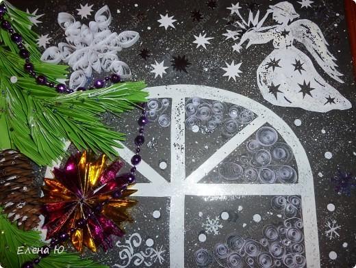 Вот такое рождественское, сказочное окошечко получилось.  фото 2