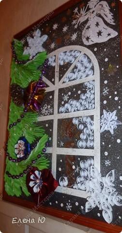 Вот такое рождественское, сказочное окошечко получилось.  фото 4