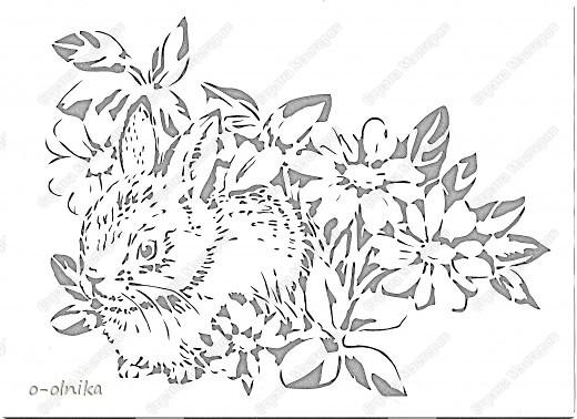 Картина панно рисунок Новый год Вырезание ЗАИНЬКА вырезалка Бумага фото 2.