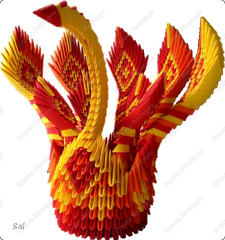 """Мой дебют в """"Стране Мастеров"""" Птица Феникс. Возрождающаяся из пламени.  Заменил фото на новое - лучшего качества."""