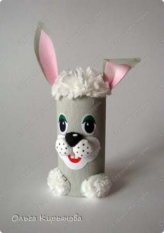 Таких зайцев мы делали с четвероклассниками два урока. фото 1