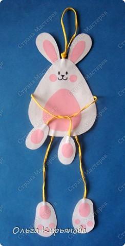 Вот таких кроликов мы сделали с второклассниками к Новому году.