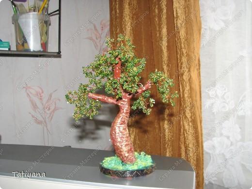 Поделка изделие Бисероплетение Бисерные деревца Бисер.