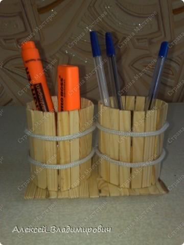 Вот моя новая карандашница в общем виде... фото 2
