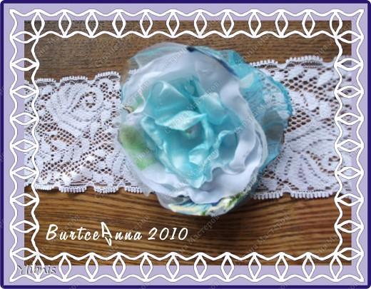 мои любимые Цветы из ткани фото 8