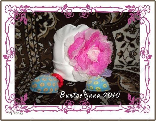мои любимые Цветы из ткани фото 9
