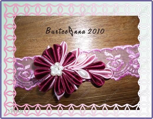 мои любимые Цветы из ткани фото 1