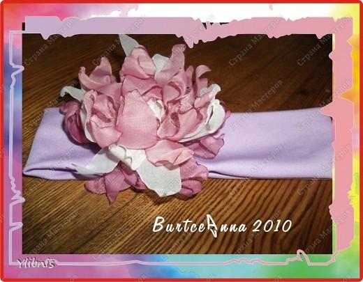мои любимые Цветы из ткани фото 19