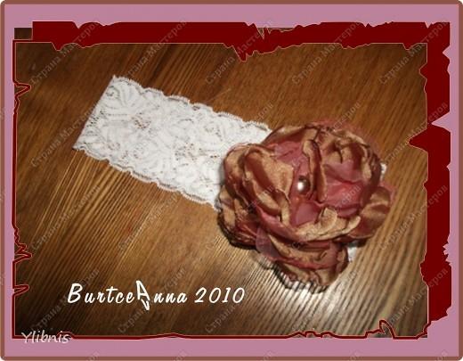 мои любимые Цветы из ткани фото 21