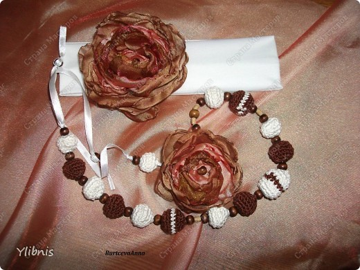 мои любимые Цветы из ткани фото 3