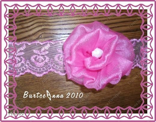мои любимые Цветы из ткани фото 4