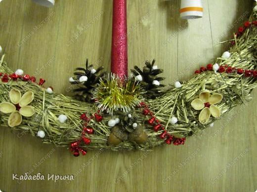 Веночек новогодний фото 2