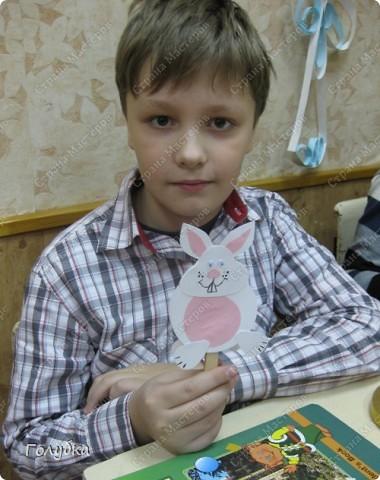 Сегодня было внеплановое занятие и решено было сделать кролика. Фас фото 4