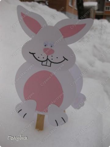 Сегодня было внеплановое занятие и решено было сделать кролика. Фас фото 1
