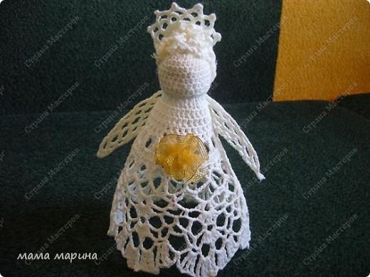 ангелочек и снежинки фото 2