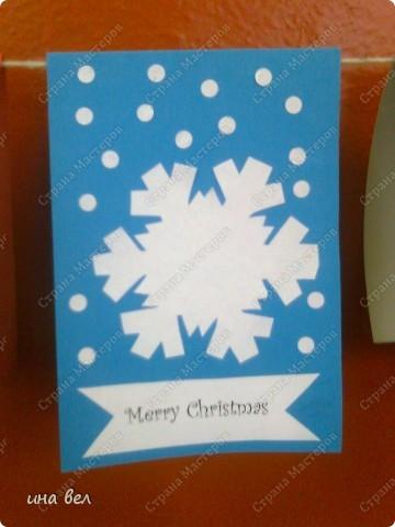 новогодные открытки фото 1