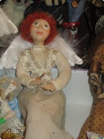 В Челябинске 18-19 декабря в Доме архитектора проходила Новогодняя 10-я выставка-продажа изделий ручной работы. Небольшой фоторепортаж. Первые 4 фотографии куклы от Ирины Викторовны Перебейнос фото 3